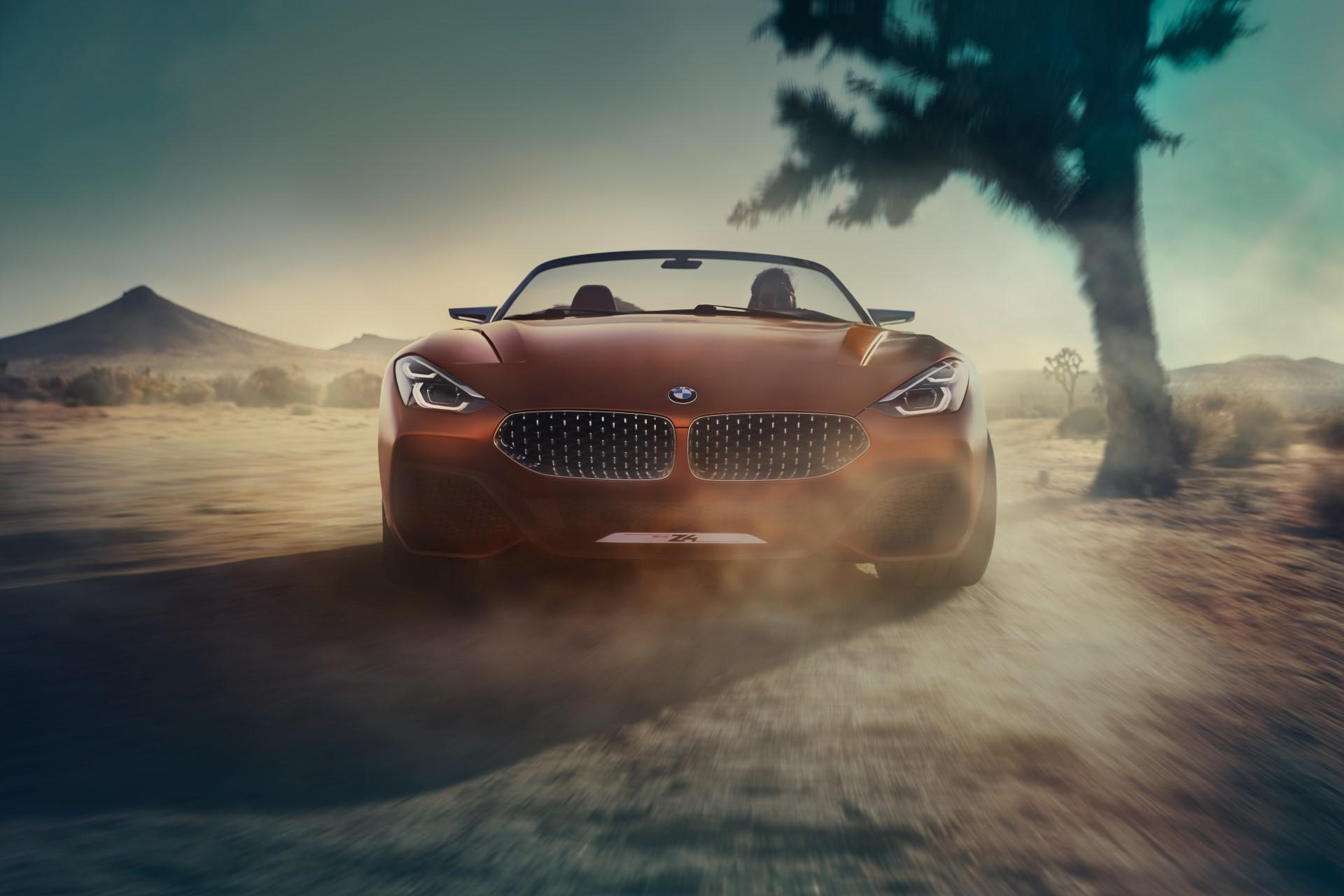 Новые подробности BMW Z4