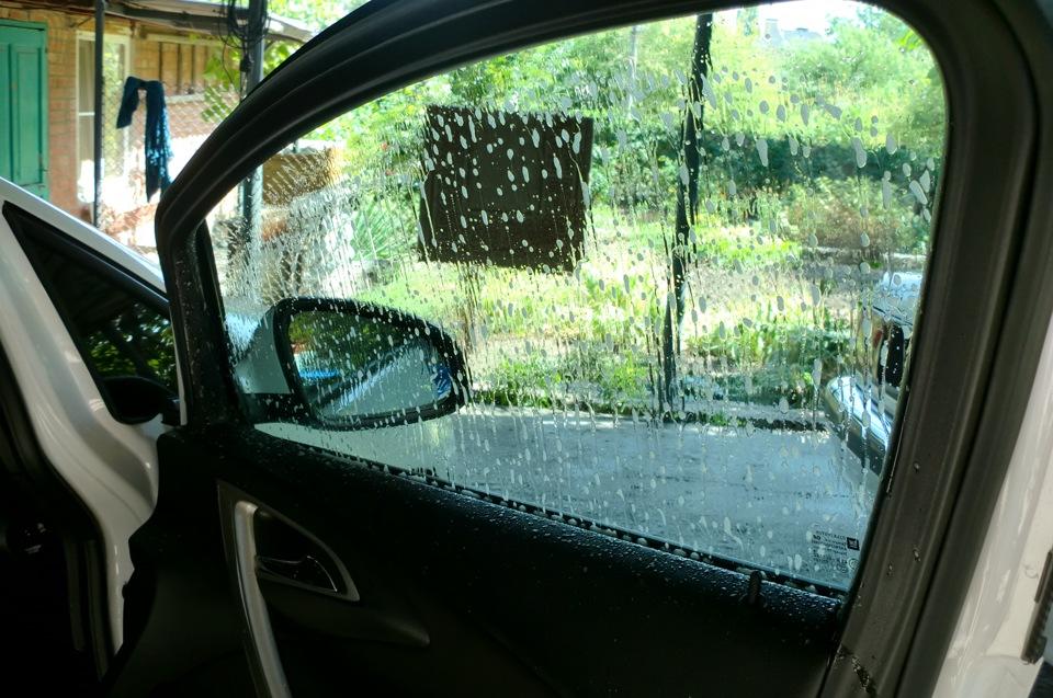 Тонировка стекол автомобиля своими руками