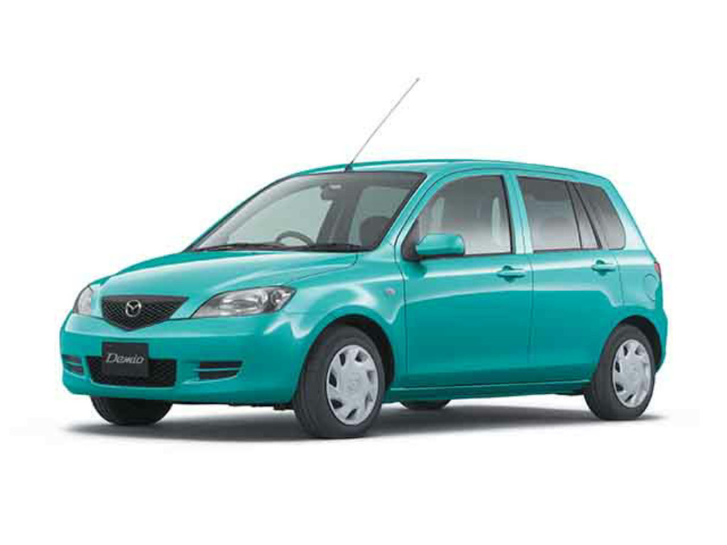Mazda 2: японские традиции с 2002 года