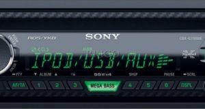 Sony CDX-G3100UE