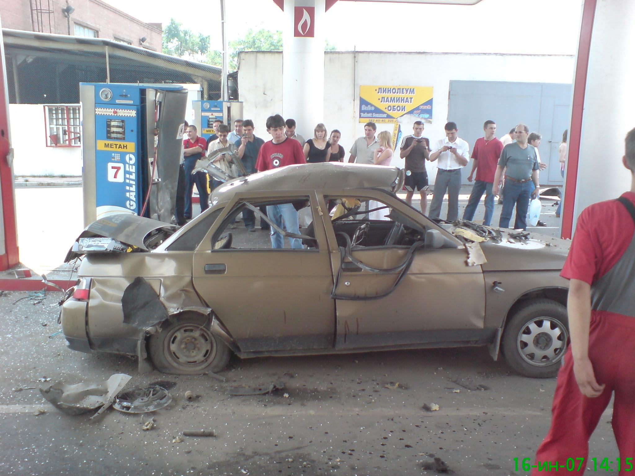 Почему может взорваться газовый баллон на автомобиле