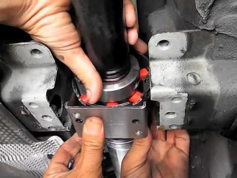 Замена карданного вала на BMW 3 своими руками