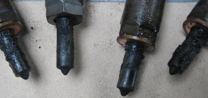 Причина поломок форсунок на дизельном двигателе