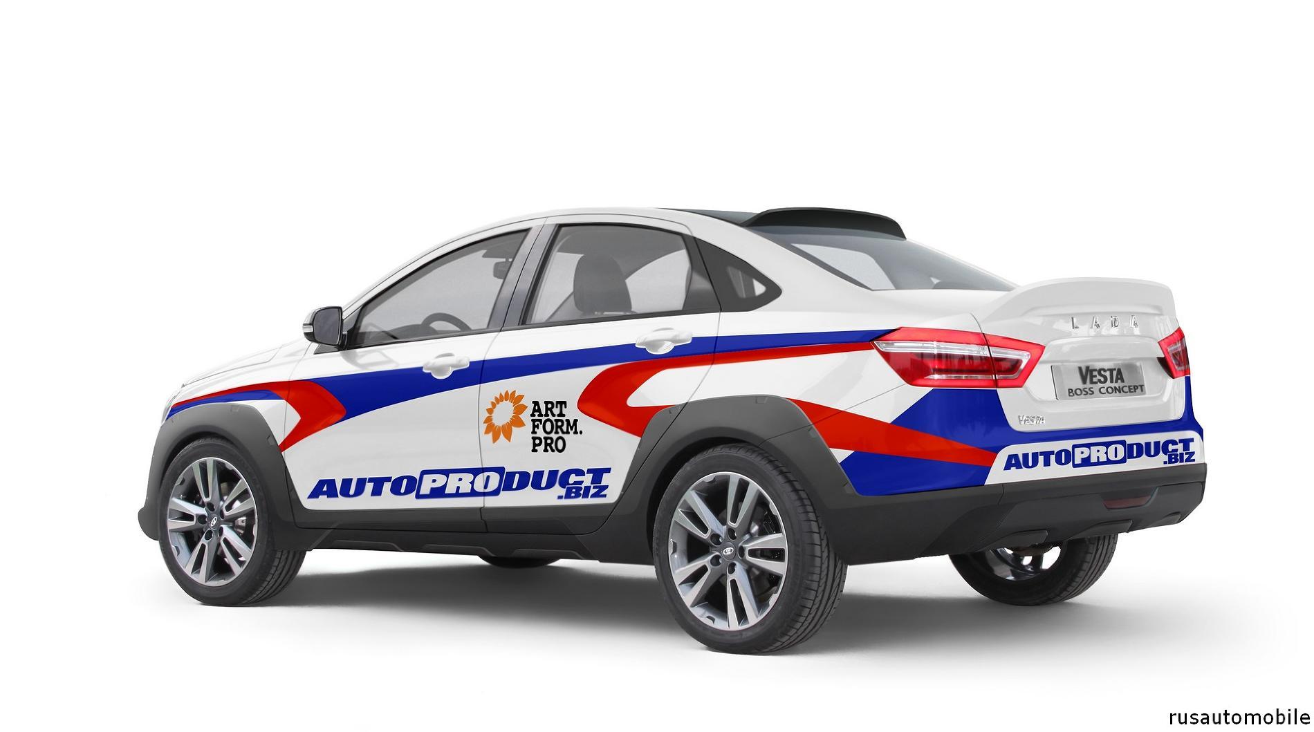 Новая Веста – Rally Sprint