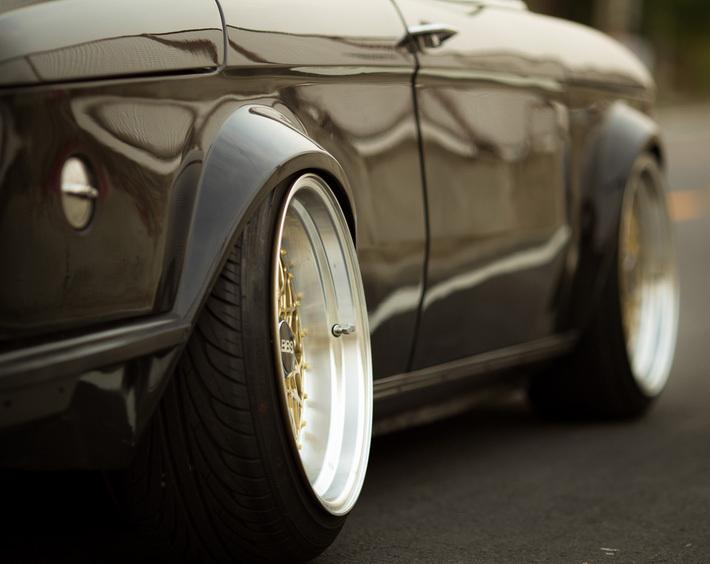 Зачем разноширокая резина заднеприводному авто?