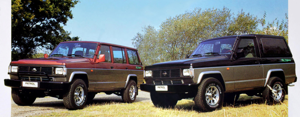 Немного истории Nissan Patrol
