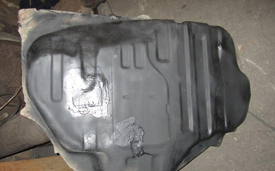 Как безопасно запаять топливный бак на автомобиле